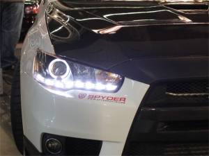 Spyder Auto - DRL LED Projector Headlights 5042248 - Image 3