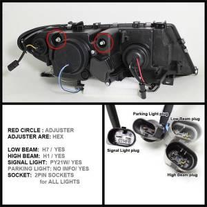 Spyder Auto - Halo Projector Headlights 5042415 - Image 8