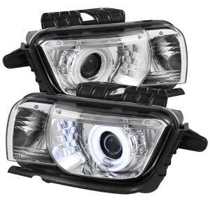 Spyder Auto - Dual CCFL Halo Projector Headlights 5042347 - Image 1