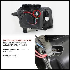Spyder Auto - Dual CCFL Halo Projector Headlights 5042361 - Image 2