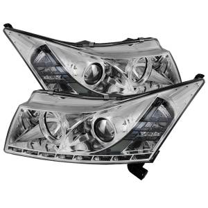 Spyder Auto - DRL LED Projector Headlights 5037909 - Image 1