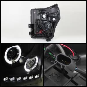 Spyder Auto - Halo LED Projector Headlights 5070272 - Image 2