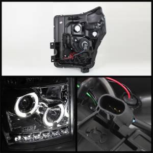 Spyder Auto - Halo LED Projector Headlights 5070265 - Image 2