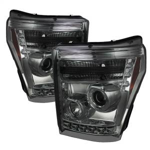Spyder Auto - Halo LED Projector Headlights 5070289