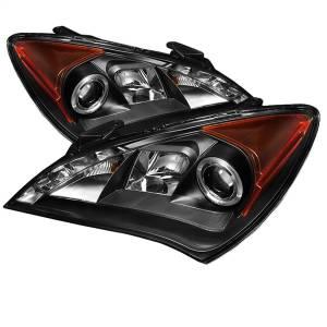 Spyder Auto - Halo DRL LED Projector Headlight 5034250 - Image 1