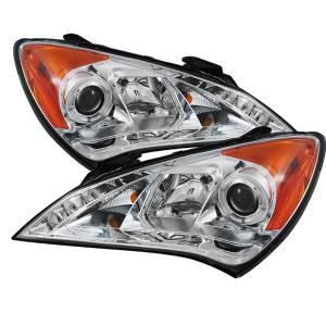 Spyder Auto - Halo DRL LED Projector Headlight 5034267 - Image 1