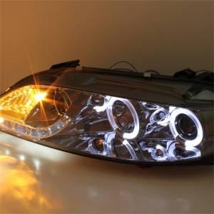 Spyder Auto - Halo DRL LED Projector Headlight 5042545 - Image 4