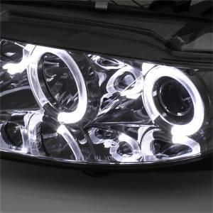 Spyder Auto - Halo DRL LED Projector Headlight 5042545 - Image 5