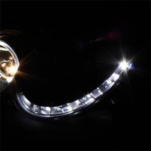 Spyder Auto - Halo DRL LED Projector Headlight 5038036 - Image 4
