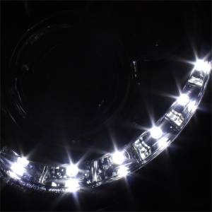 Spyder Auto - Halo DRL LED Projector Headlight 5038029 - Image 3