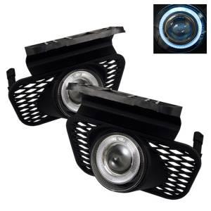Exterior Lighting - Fog Lights - Spyder Auto - Halo Projector Fog Lights 5021199