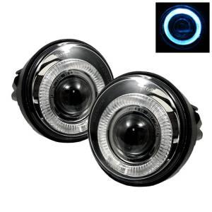 Exterior Lighting - Fog Lights - Spyder Auto - Halo Projector Fog Lights 5021236