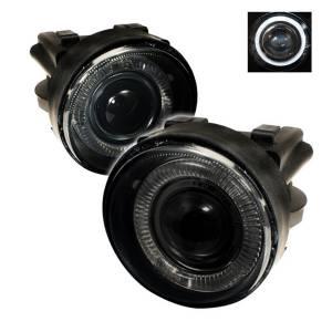 Exterior Lighting - Fog Lights - Spyder Auto - Halo Projector Fog Lights 5021243