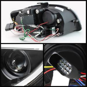 Spyder Auto - DRL LED Projector Headlights 5071842 - Image 3