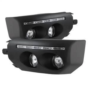 Exterior Lighting - Fog Lights - Spyder Auto - DRL LED Fog Lights 5075161