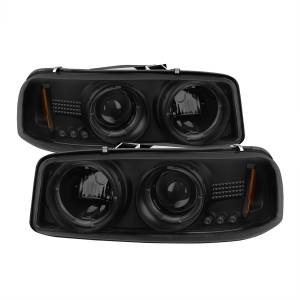 Spyder Auto - Halo LED Projector Headlights 5078292