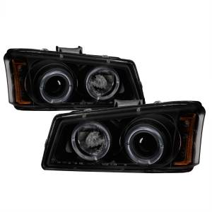 Spyder Auto - Halo LED Projector Headlights 5078315