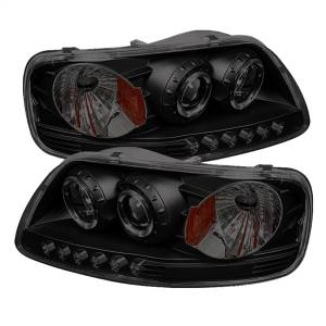 Spyder Auto - Halo LED Projector Headlights 5078445
