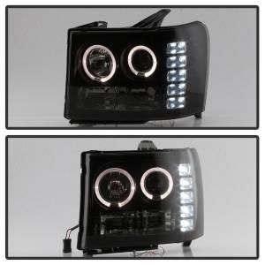 Spyder Auto - Halo LED Projector Headlights 5078506 - Image 2