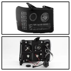 Spyder Auto - Halo LED Projector Headlights 5078506 - Image 9