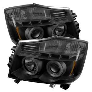 Spyder Auto - Halo LED Projector Headlights 5078605