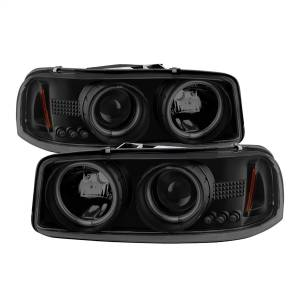 Spyder Auto - CCFL Halo LED Projector Headlights 5078704