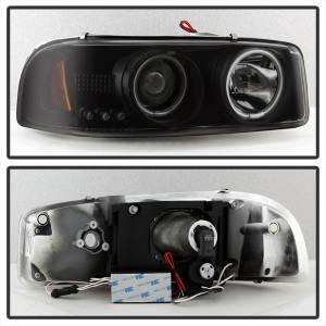 Spyder Auto - CCFL Halo LED Projector Headlights 5078704 - Image 3