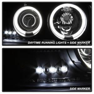 Spyder Auto - CCFL Halo LED Projector Headlights 5078704 - Image 5