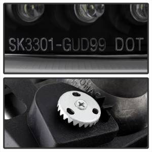 Spyder Auto - CCFL Halo LED Projector Headlights 5078704 - Image 6