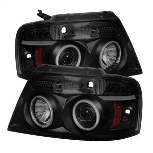 Spyder Auto - CCFL Halo LED Projector Headlights 5078834