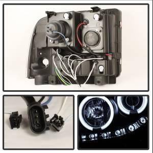 Spyder Auto - CCFL Halo LED Projector Headlights 5078896 - Image 2