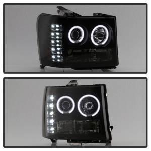 Spyder Auto - CCFL Halo LED Projector Headlights 5078919 - Image 4
