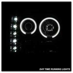 Spyder Auto - CCFL Halo LED Projector Headlights 5078919 - Image 9