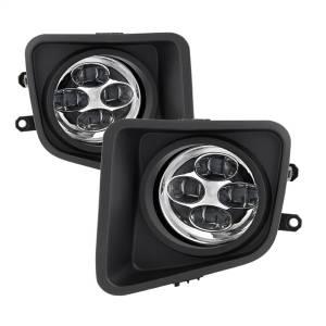 Exterior Lighting - Fog Lights - Spyder Auto - Daytime DRL LED Running Fog Lights 9031540