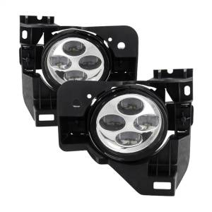 Exterior Lighting - Fog Lights - Spyder Auto - Daytime DRL LED Running Fog Lights 9031618