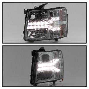 Spyder Auto - DRL LED Projector Headlights 5083593 - Image 9