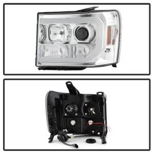 Spyder Auto - DRL LED Projector Headlights 5083647 - Image 8