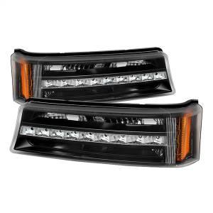 Exterior Lighting - Bumper Light Assembly - Spyder Auto - XTune LED Bumper Lights 9027482