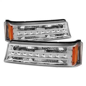 Exterior Lighting - Bumper Light Assembly - Spyder Auto - XTune LED Bumper Lights 9027499