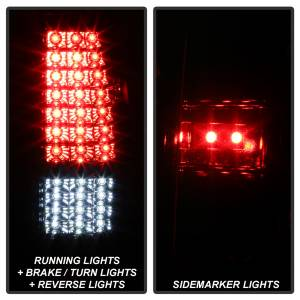 Spyder Auto - XTune LED Tail Lights 9037665 - Image 7