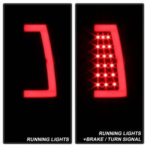 Spyder Auto - XTune Version 3 Light Bar LED Tail Lights 9038761 - Image 5