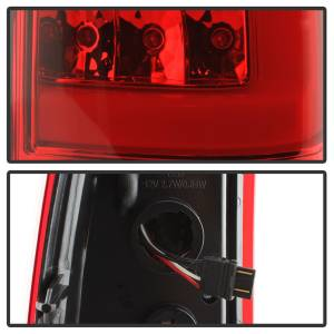 Spyder Auto - XTune Version 3 Light Bar LED Tail Lights 9038792 - Image 5