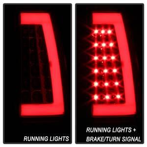 Spyder Auto - XTune Version 3 Light Bar LED Tail Lights 9038792 - Image 7