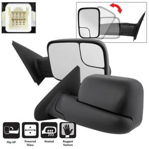 Mirror - Door Mirror Set - Spyder Auto - XTune Door Mirror Set 9935732