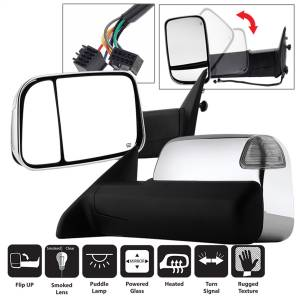 Mirror - Door Mirror Set - Spyder Auto - XTune Door Mirror Set 9935787