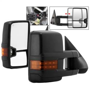 Mirror - Door Mirror Set - Spyder Auto - XTune Door Mirror Set 9936678
