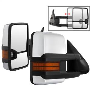 Mirror - Door Mirror Set - Spyder Auto - XTune Door Mirror Set 9936746