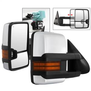 Mirror - Door Mirror Set - Spyder Auto - XTune Door Mirror Set 9936753