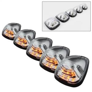 Exterior Lighting - Roof Marker Light - Spyder Auto - XTune Cab Roof LED Lights 9924583
