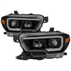 Spyder Auto - XTune DRL Light Bar Projector Headlights 9039256